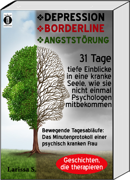 Book Cover: DEPRESSION - BORDERLINE - ANGSTSTÖRUNG