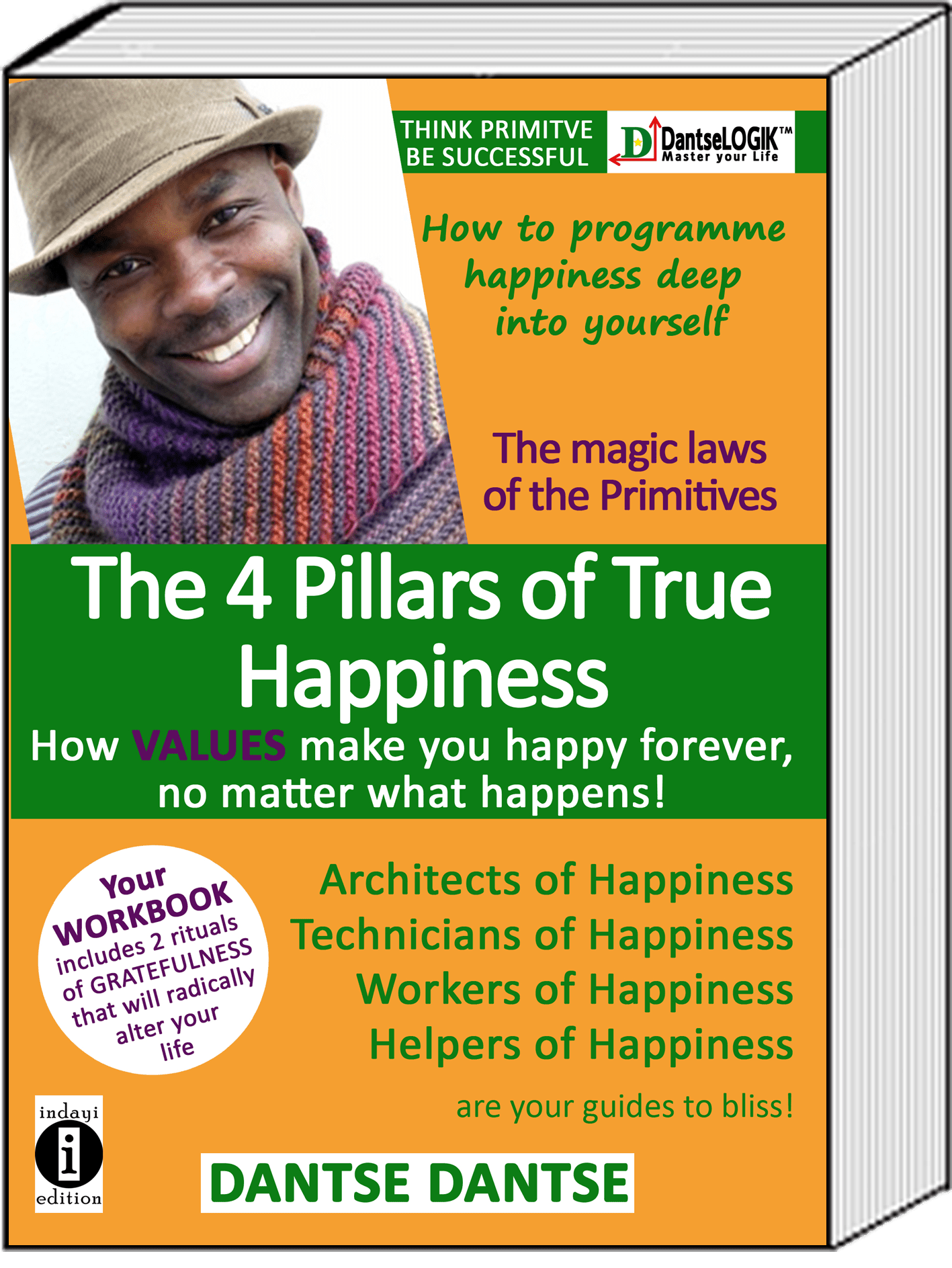 The 4 Pillars of Happiness: How VALUES make you happy forever, no matter what happens