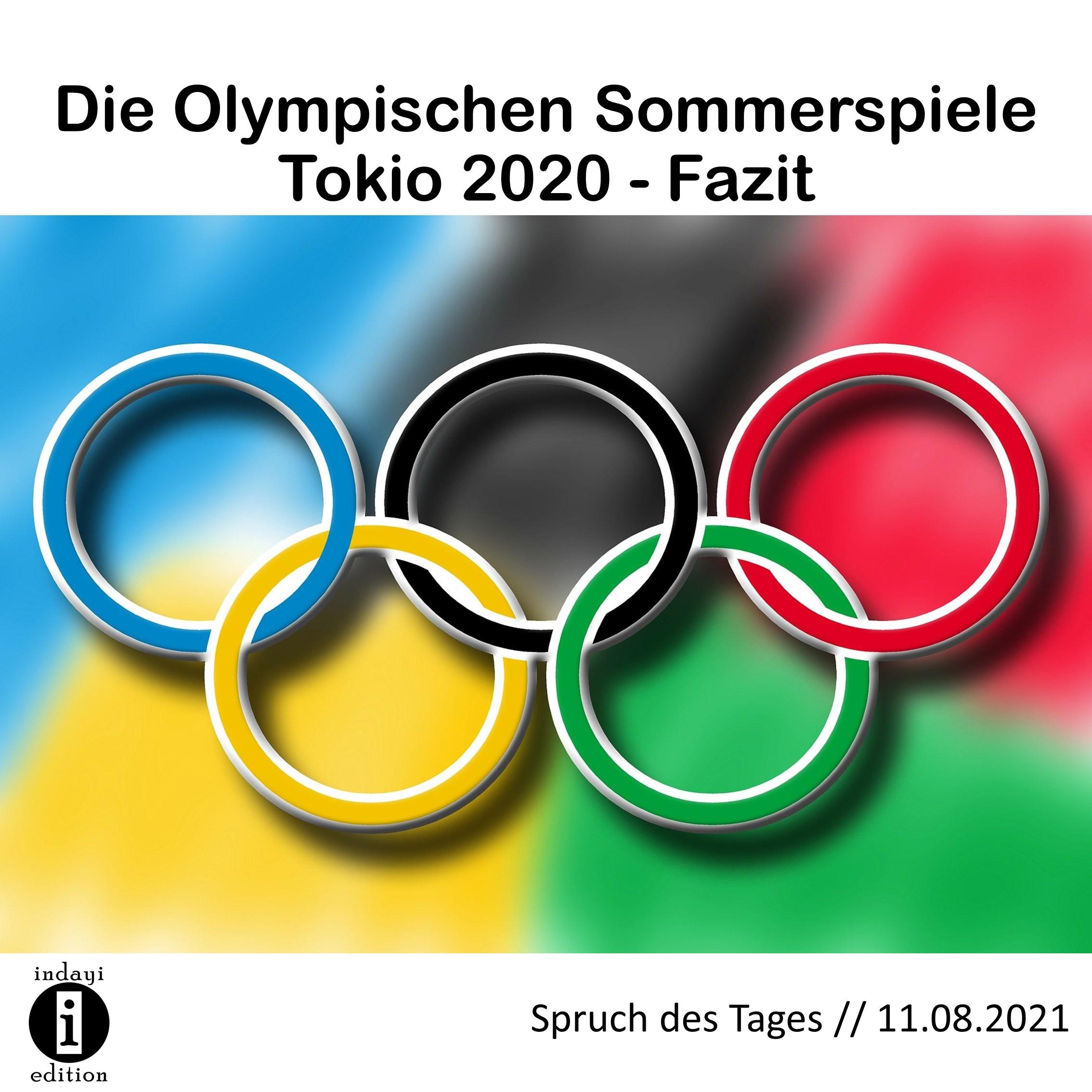 Die Olympischen Sommerspiele Tokio 2020 // Spruch des ...